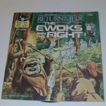 Star Wars Return of the Jedi The Ewoks Join the Fight read along book record @sold@